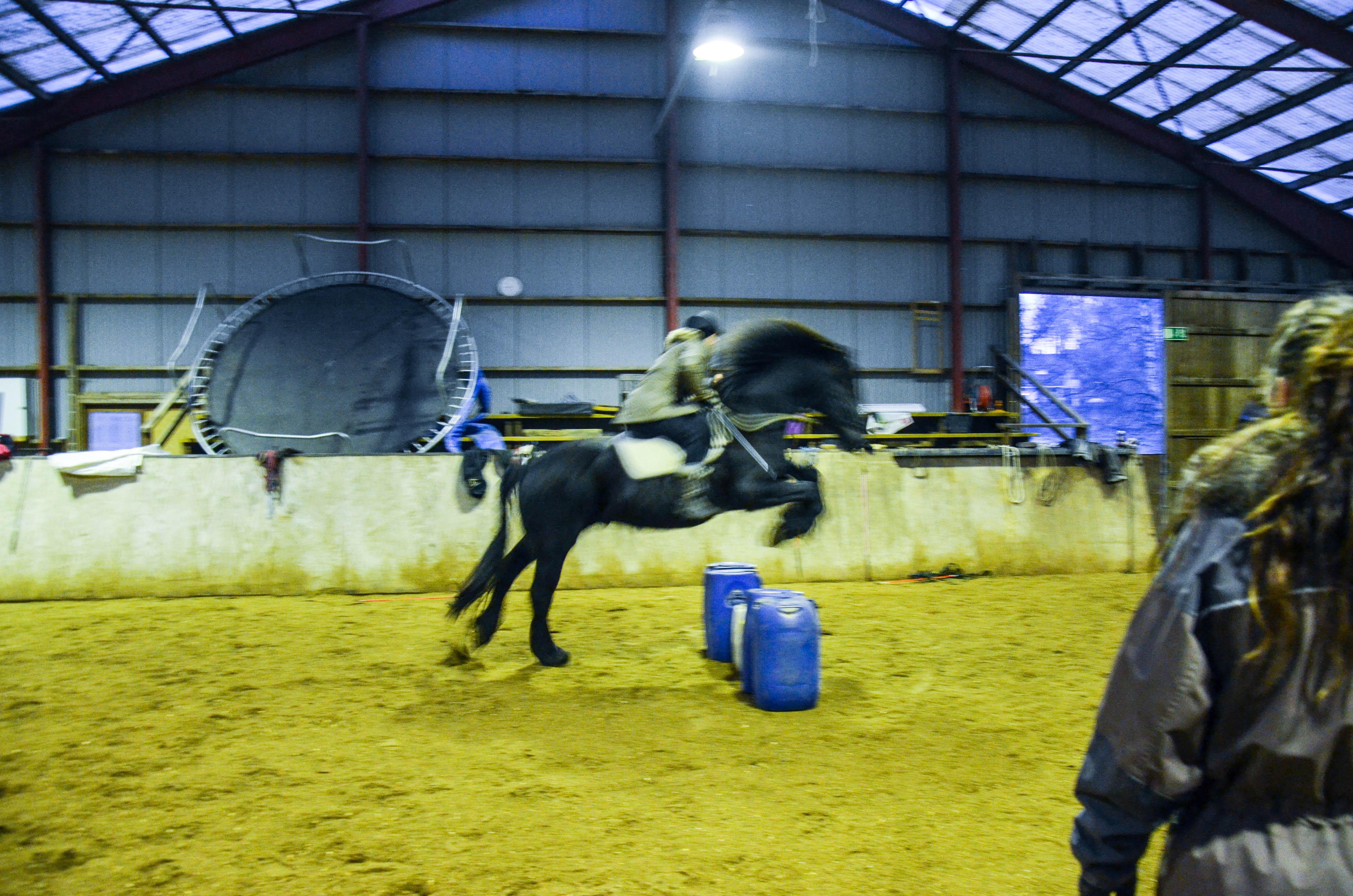 Godt at Rim nå tilbyr og liker å hoppe, for jeg elsker det nemlig :D